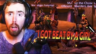 Asmongold LOSES First HORDE 8.2 MOUNT OFF & Gets MAD