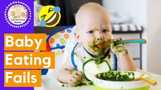 Funniest Baby Eating Fails | Funny Baby Video 2020 [ Try Not To Laugh ]