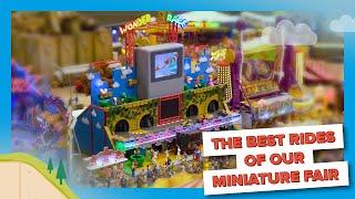 Die schönsten Fahrgeschäfte unserer neuen Miniatur Kirmes