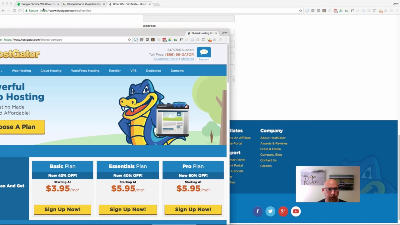 Hostgator How To Install An Ssl Certificate For Wordress And Notify