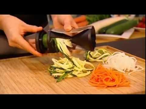 spirelli taille legumes spaghettis gefu sur maspatule com