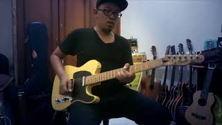 Indonesian Squire telecaster sound test