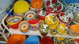 Обалденная посуда для любого блюда. Магазин в Италии
