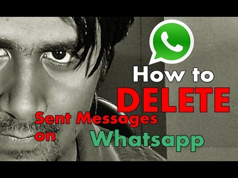 how to delete whatsapp messages sent