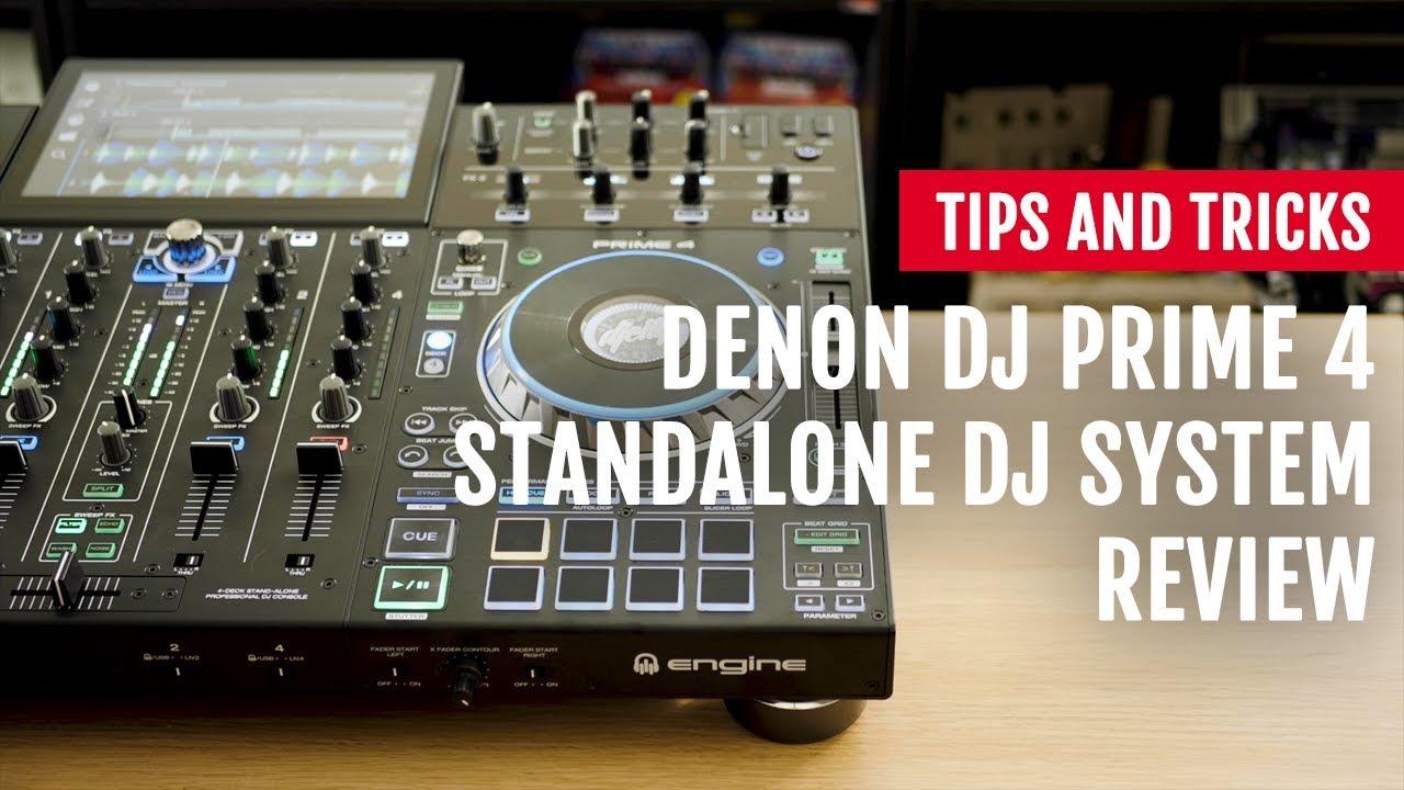 Review: Denon DJ Prime 4 Standalone DJ System | Tips and Tricks