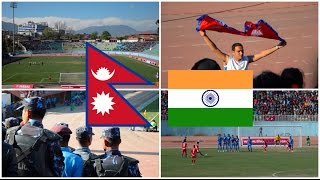 Nepal - India, 2018 FIFA World Cup Qualification 1st round