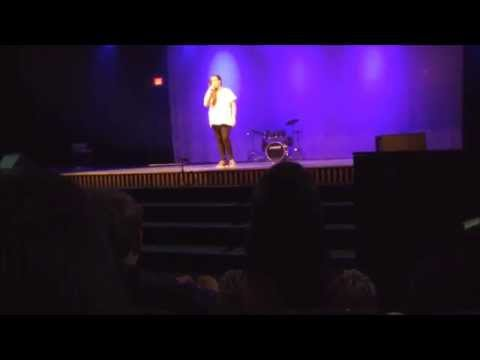 Me Singing Don't Wait By Joey Graceffa Live On Stage!