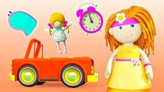 Учим предметы - Мультики для малышей - Кукольный домик Бьянки