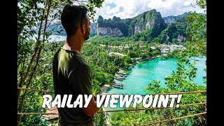 Railay Beach in Krabi, Thailand: Railay Viewpoint Hike & Caves!! Hardest Hike We've Done!