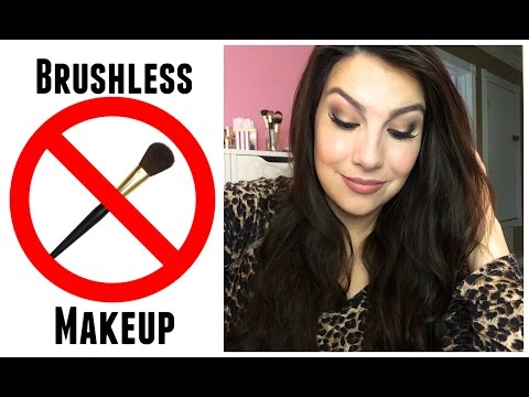 100% Brushless Makeup Tutorial - Fingers Only!