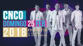CNCO EN VIVO EN EL FESTIVAL DE #VIÑA2018 COMPRA TUS ENTRADAS