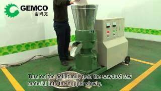 Wood pellet maker, Wood pellet manufacturing equipment, wood pellet press