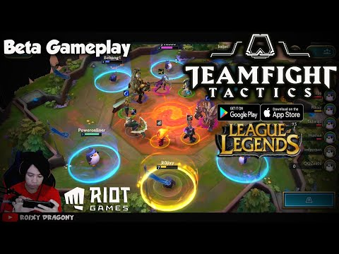 Versi Global - LOL Auto Battler !!! Teamfight Tactics: League of Legends Strategy Game (ENG) Android - 동영상