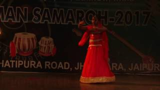 Khatak Dance Performed by Student of Jaipur Sangeet Mahavidyalaya  MTS