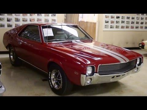 1969 AMC AMX 390 V8 Four Speed Muscle Car