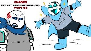 Sans - Try Not To Laugh Challenge Part 45【 Undertale Comic Dub Compilation 】