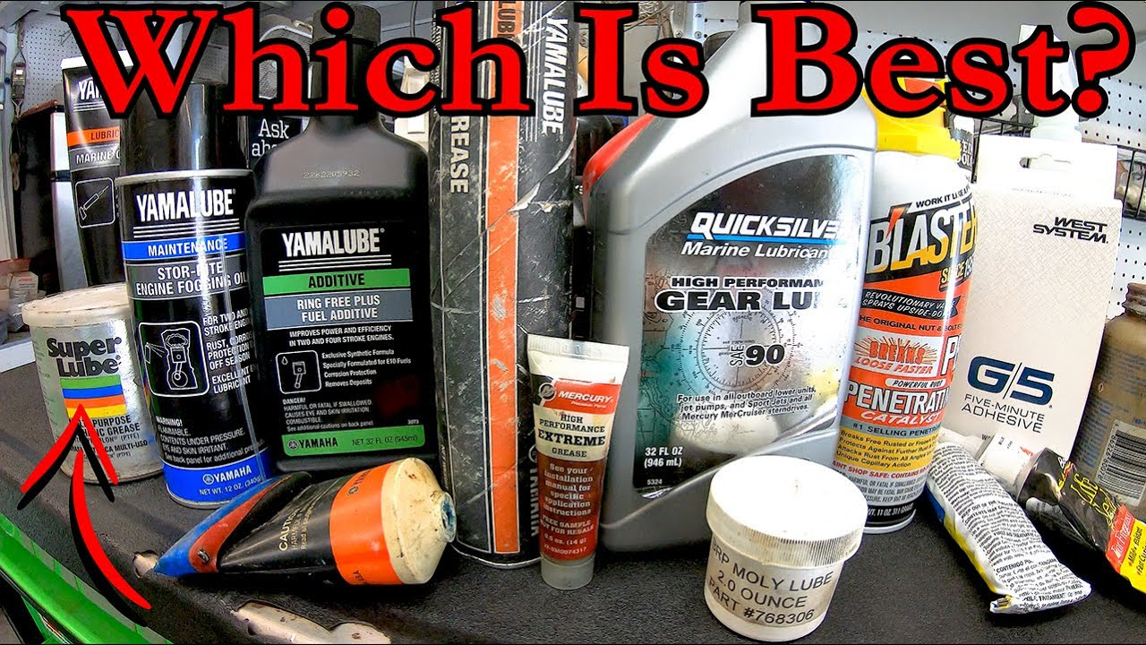 Outboard Grease, Lube, & Cleaners!!