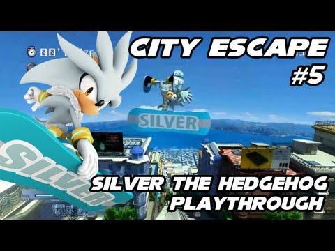 Silver Mod Sonic Generations - Silver the Hedgehog video