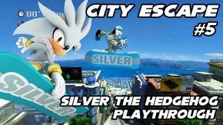 Sonic Generations - Silver the Hedgehog 2006 Mod - Part 5 - City Escape
