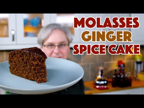 Molasses Spice Ginger Cake Recipe || Glen & Friends Cooking