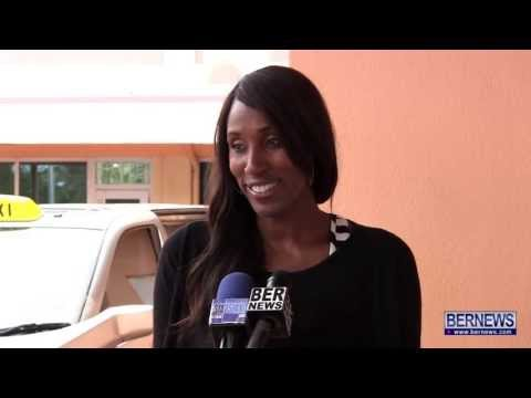 Basketball Player Lisa Leslie Arrives In Bermuda Apr 24 2013