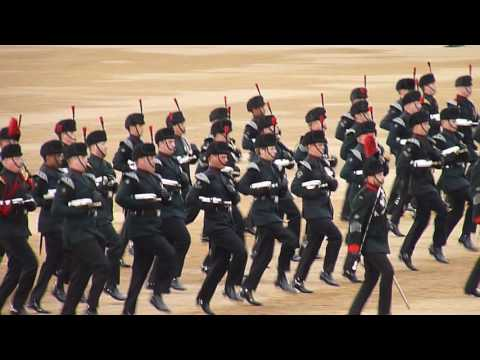 The Rifles Sounding Retreat 2016 05
