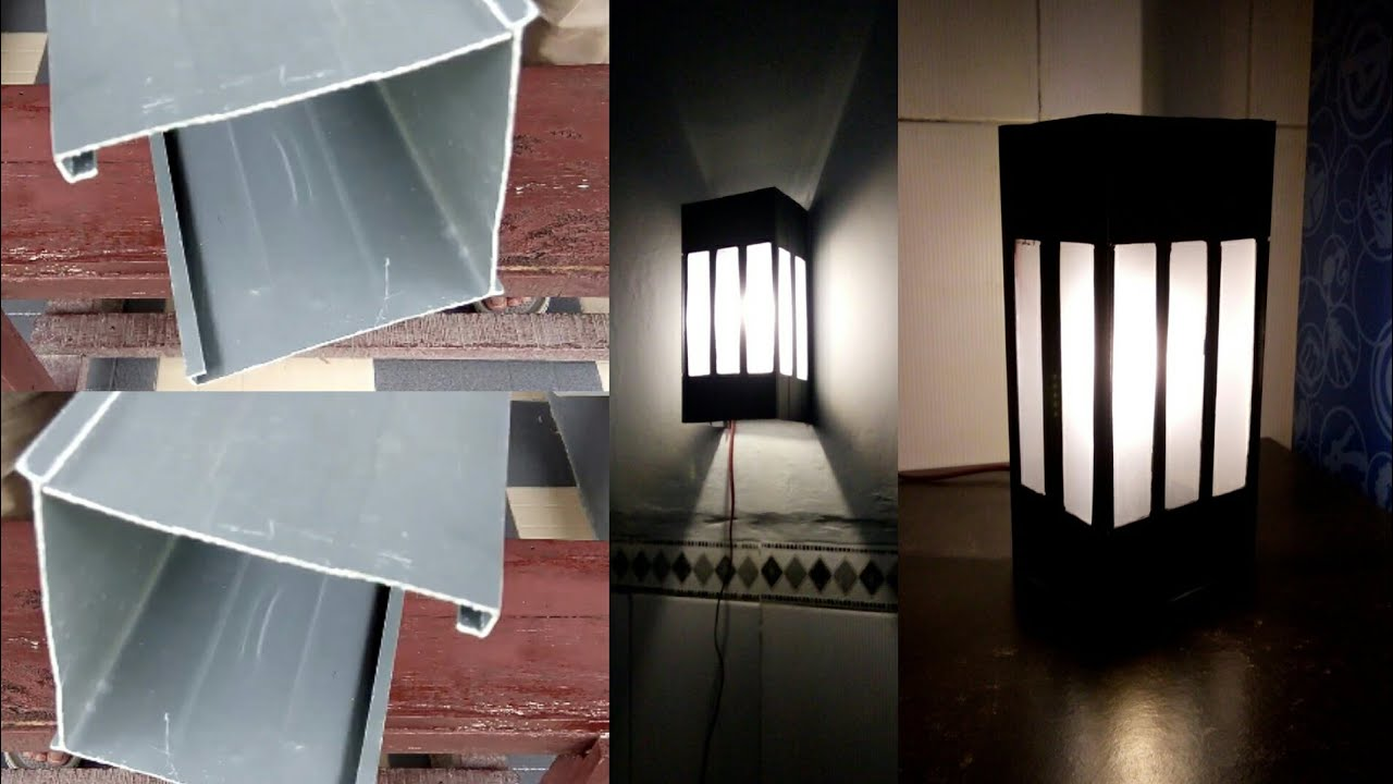 Cara Membuat Lampu Hias Dari Talangan Air Bekas By Abchannel
