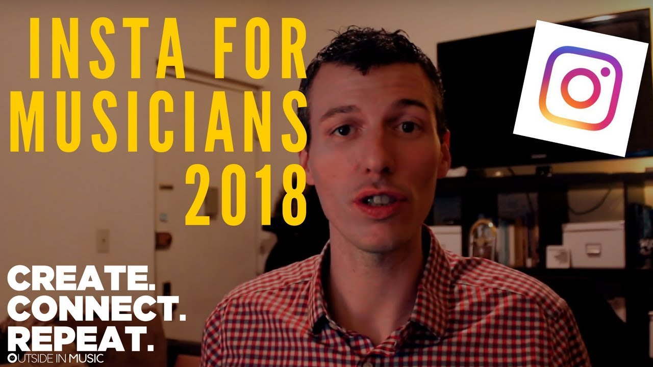 3 Instagram tips for musicians 2018 | Create Connect Repeat