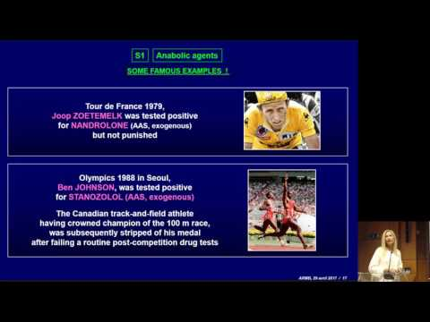 Corinne Charlier: Pharmacological and toxicological aspects of performance-enhancing substances