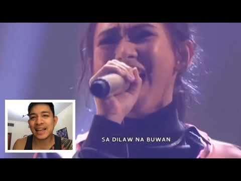 "Reaction video to Sarah Geronimo and Janine Berdin ""Buwan"""