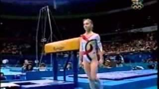 Andreea Raducan (ROM) - 2000 Olympic Games EF VT