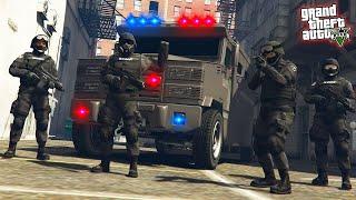 Vstúpil som do jednotky SWAT - Pracujem ako POLICAJT v GTA 5 #11