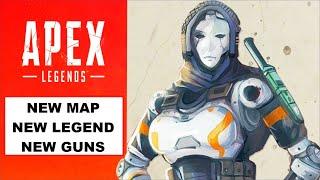 New Map, Legends and Guns Coming to Apex Legends! Developer Update Details!