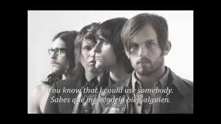 Kings Of Leon - Use Somebody (subtitulos español e inglés)