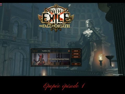 DSME-Epopée Path of exile-POE episode1