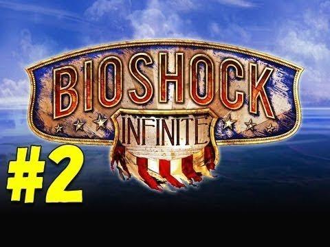 Bioshock Infinite - Walkthrough/Gameplay - Part 2 [Skyline] (XBOX 360/PS3/PC)