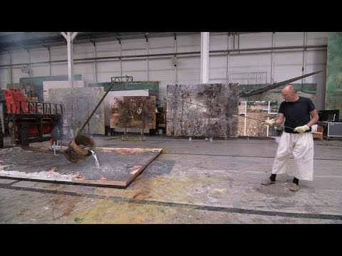 In the studio with artist Anselm Kiefer