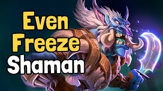 Even Freeze Shaman Decksperiment - Hearthstone