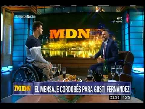 """Gustavo Fernández: """"No cambiaría nada de mi vida"""""""
