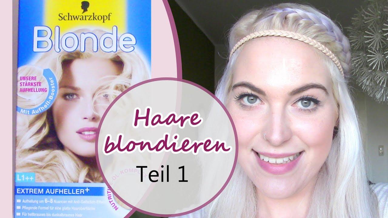 Haare blondieren 6 prozent