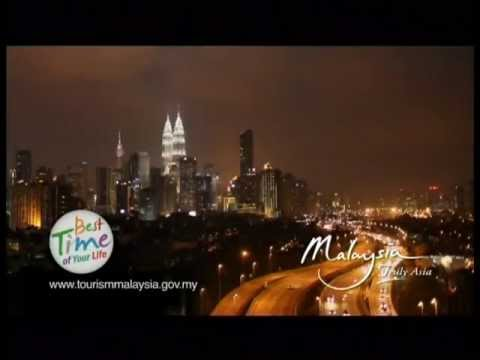 Tourism Malaysia 2012 (The Best Time of Your Life) Travel Video