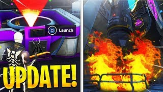 *SECRET* ROCKET Launch! Season 5 LEAKS are HERE! (Fortnite Season 5)
