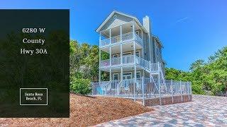 Rental Machine – 30A Santa Rosa Beach House – Luxury Beach Homes for Sale