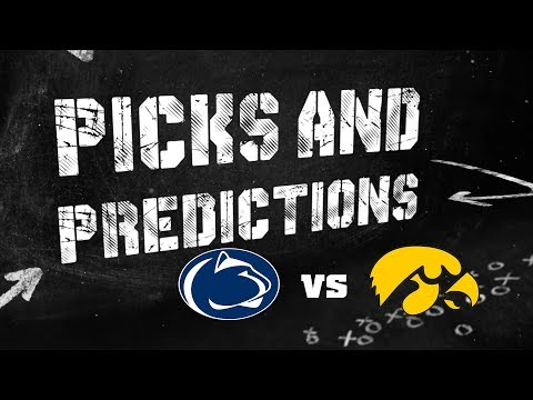 Penn State vs Iowa Hawkeyes : Picks and Predictions
