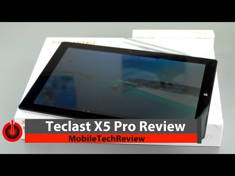 Teclast X5 Pro Review  - $500 Surface Pro 4 Clone