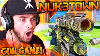 """""""NUKETOWN RIOTS!"""" - Black Ops 3 GUN GAME! #9 - LIVE w/ Ali-A"""