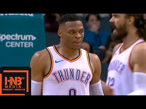 Oklahoma City Thunder vs Charlotte Hornets 1st Half Highlights | 11.01.2018, NBA Season
