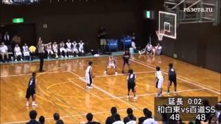 Невероятная развязка матча в детском баскетболе
