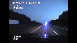 RAW VIDEO: Brentwood Police dash cam of high-speed chase
