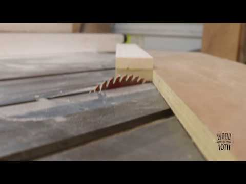 Cove Cutting On Table Saw
